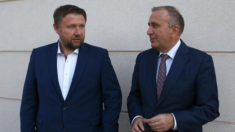 Marcin Kierwiński i Grzegorz Schetyna