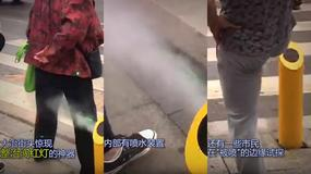 Chiny: zimny prysznic zamiast mandatu