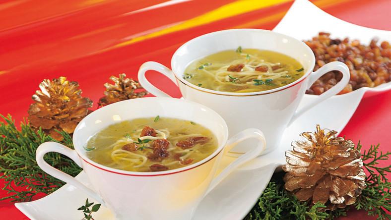 Zobacz przepisy na świąteczne zupy z nutką szaleństwa!