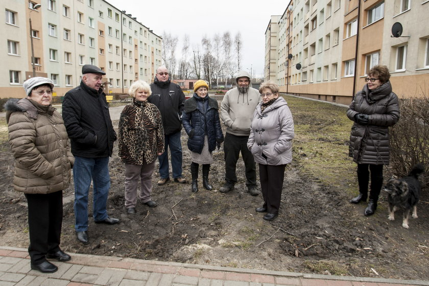 Oburzeni mieszkańcy bloku przy ul. Gliwickiej 220