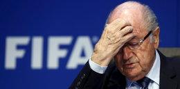 Szef FIFA w szpitalu. Załamał się nerwowo