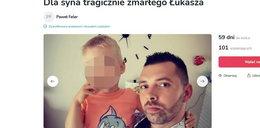 Łukasz zginął na autostradzie w Niemczech. Osierocił 4-letniego synka