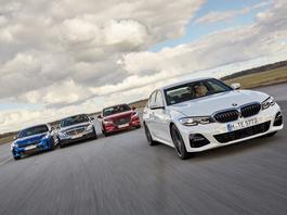 Porównanie: Kia Stinger, Mazda 6, Mercedes klasy C i BMW serii 3