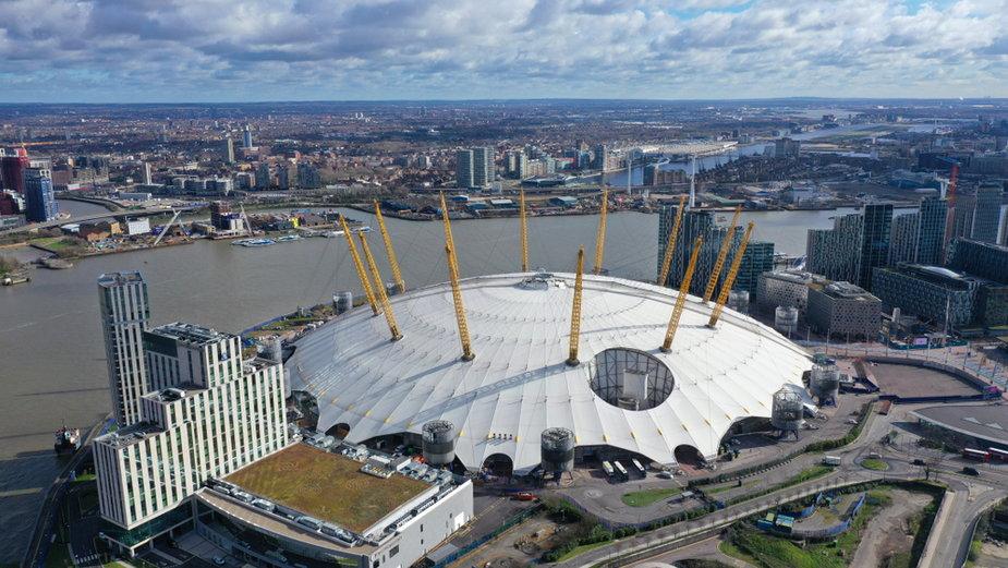 Londyńska O2 Arena
