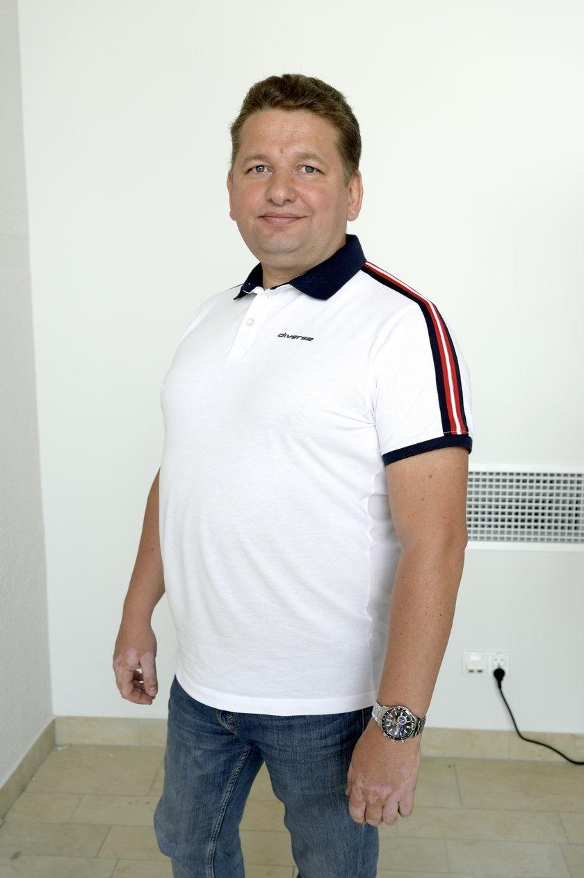 Grzegorz Kaliszczak, prezes aquaparku
