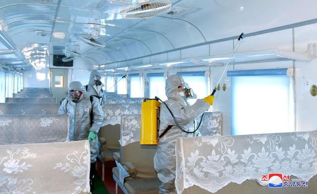 Pjongjang severna koreja koronavirus