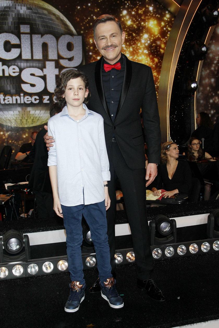 Krzysztof Ibisz z synem