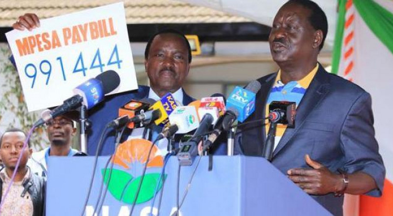 Setback for Raila, Kalonzo as Sh1.5 billion retirement money is cancelled due to coronavirus