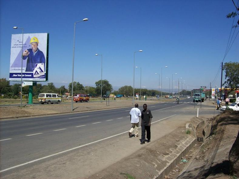 A section of Nairobi-Nakuru highway