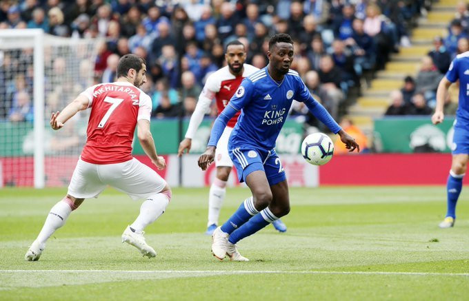 Wilfred Ndidi proved himself to be one of the top midfielders in England and maybe the whole of Europe (Getty Images)
