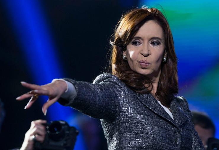 Najlepša državnica Kristina Fernandes de Kirhner zauzela je četvrto mesto na listi