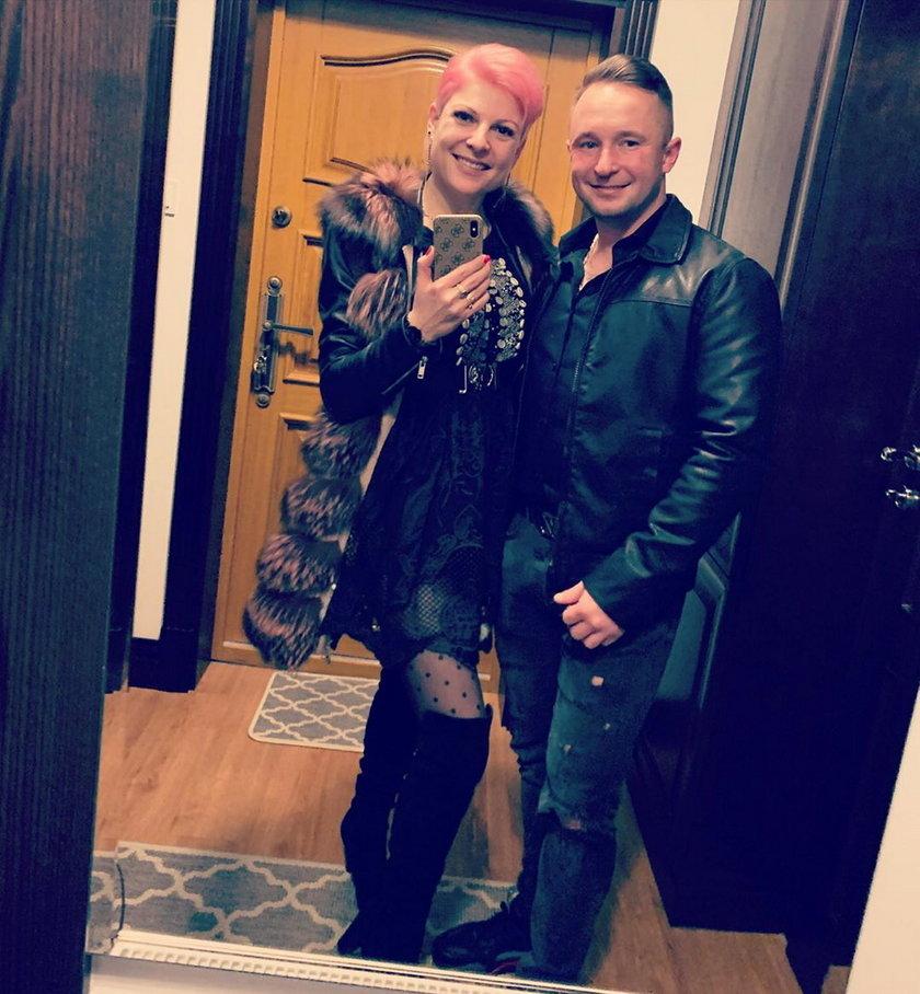 Magdalena Narożna i Krzysztof Byniak