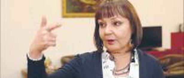 Jolanta Fedak, od 2007 roku minister pracy i polityki społecznej. Absolwentka Wydziału Nauk Politycznych Uniwersytetu Wrocławskiego. Od lat 90. związana z PSL Fot. Wojciech Górski