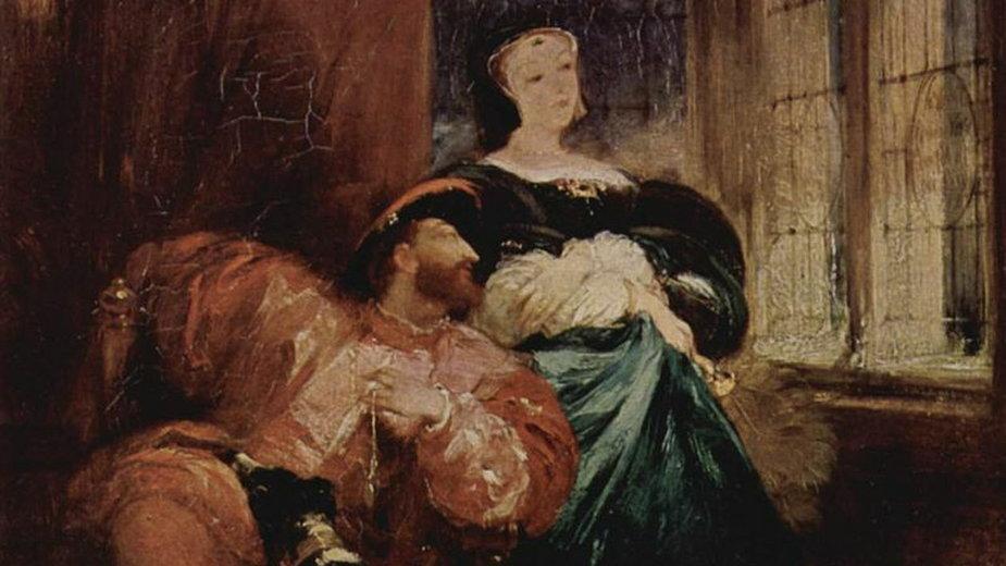 Franciszek I i jego siostra