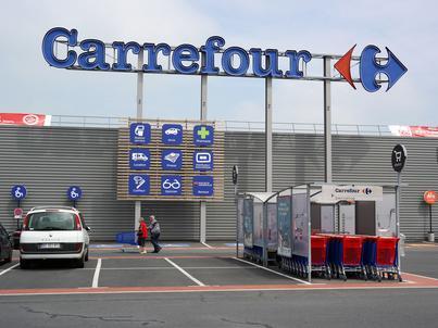 Carrefour jest we Francji największym prywatnym pracodawcą