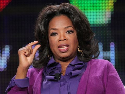 Oprah Whitney has come out to blatantly deny that she advised Prince Harry and Meghan Markle to set back as senior members of the royal family.