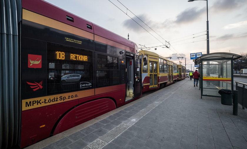 Zderzenie tramwajów na Piłsudskiego w Łodzi. motorniczy zasłabł. Są ranni