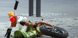 3,5-letni chłopczyk błąkał się z rowerkiem po krajowej dziesiątce