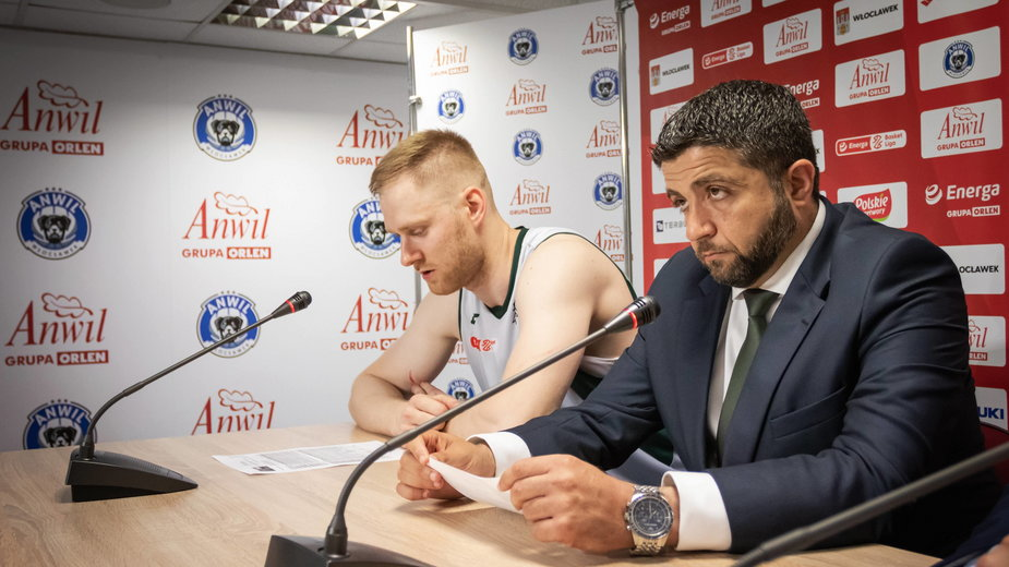 Jarosław Zyskowski i Oliver Vidin
