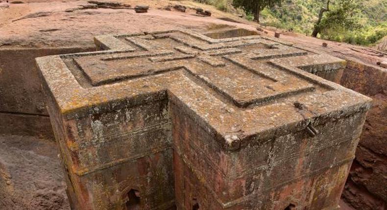 The Church of Saint George in Ethiopia. (ancient-origins)