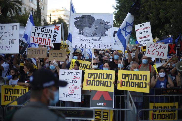 Jerusalim, protest
