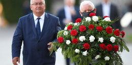 Kaczyński w urodziny Lecha z bratanicą na Wawelu