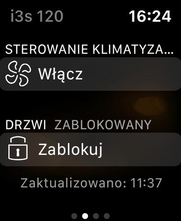 Aplikacja Apple Watch i3