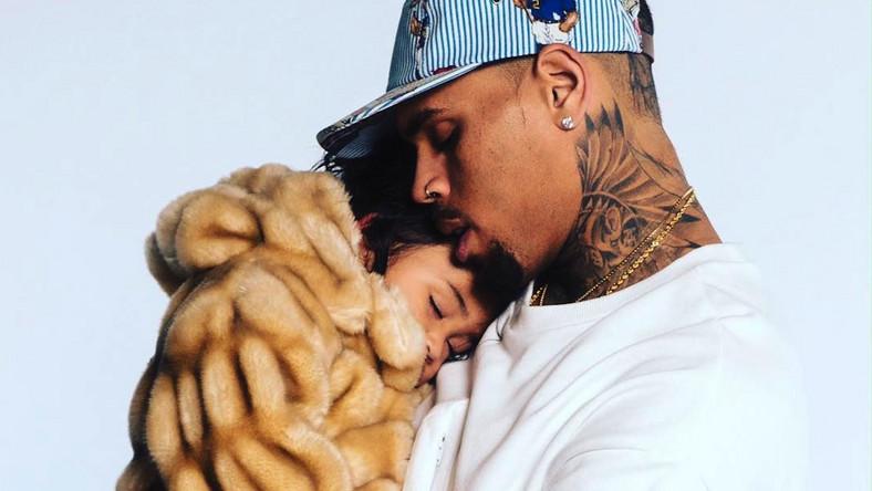 Chris Brown z ukochaną córeczką