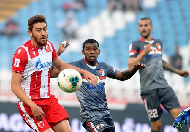 Milan Pavkov na meču FK Crvena zvezda - FK Proleter