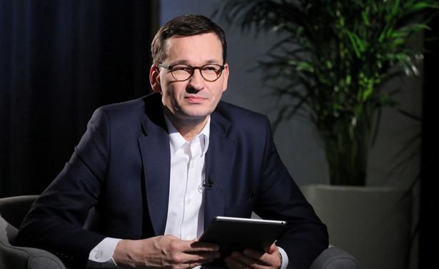 Pani kanclerz z dużym zrozumieniem patrzy na nasz miks energetyczny - ocenił Mateusz Morawiecki