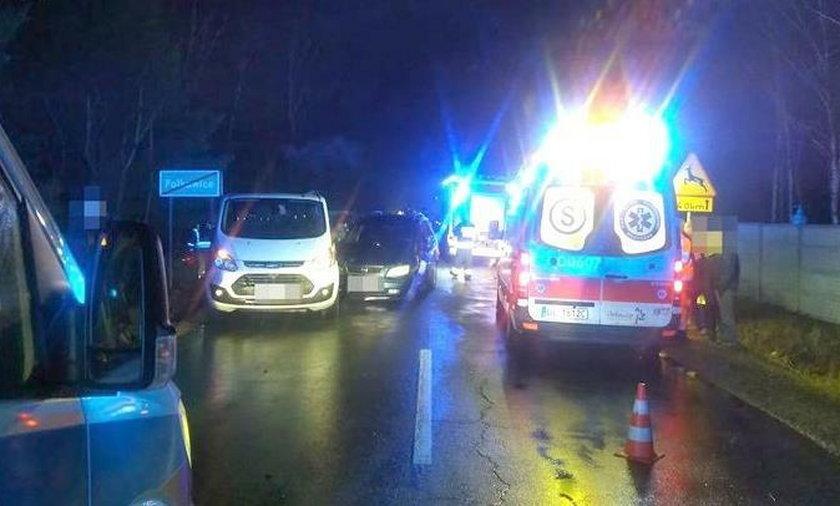 Dolny Śląsk: Karambol niedaleko Polkowic. Wielu rannych