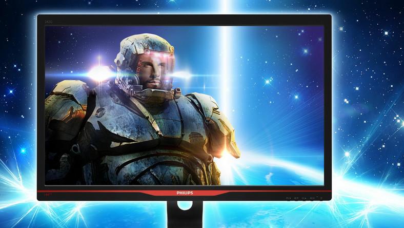 """Monitor Philips Philips 242G5DJEB to 24"""" ekran z matrycą TN o częstotliwości odświeżania ekranu 144 Mhz."""