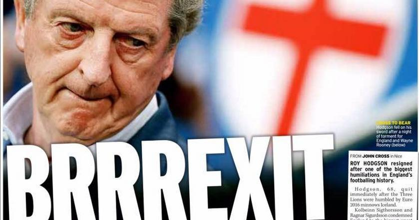 """""""Anglia poza Europą. Znowu"""" - brytyjskie media nie zostawiają suchej nitki na piłkarzach z Anglii"""