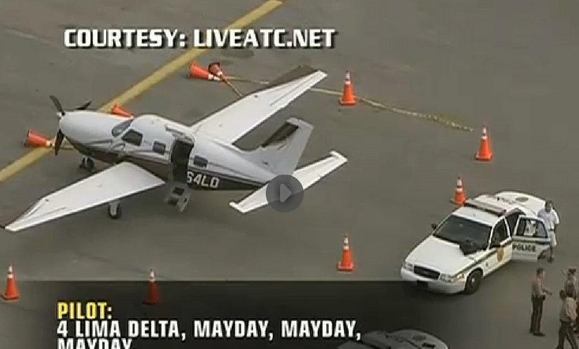 Pilot zgubił pasażera