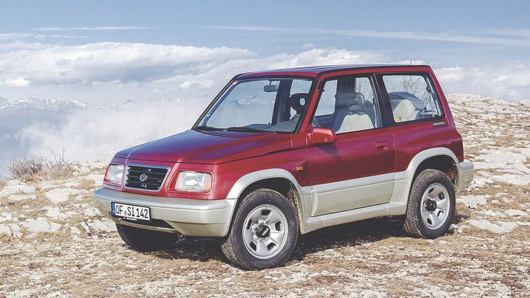 Suzuki Vitara - klasyk idealny na urlop z przygodami