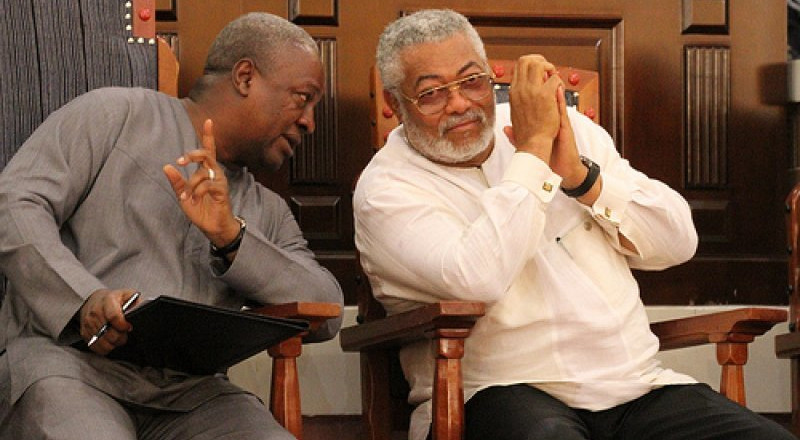 I have no problem with Mahama, Rawlings says