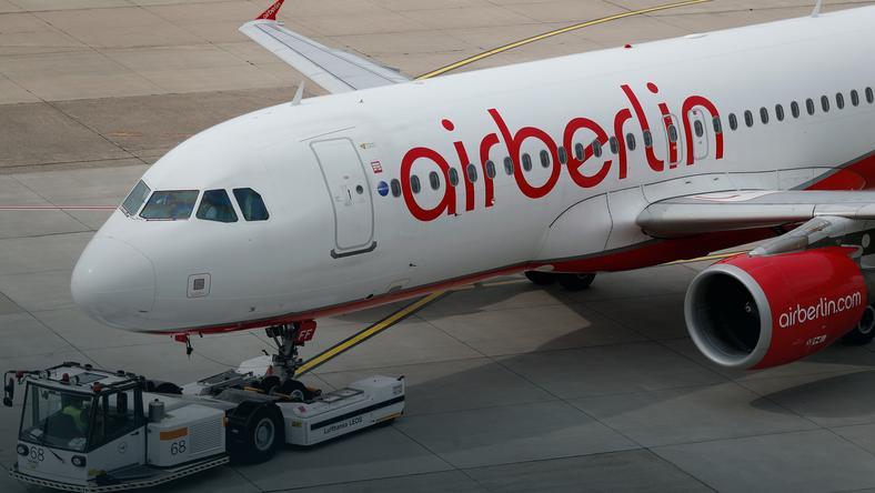 Air Berlin złożył wniosek o stwierdzenie upadłości 15 sierpnia