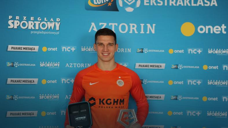 Jakub Świerczok piłkarzem grudnia w LOTTO Ekstraklasie