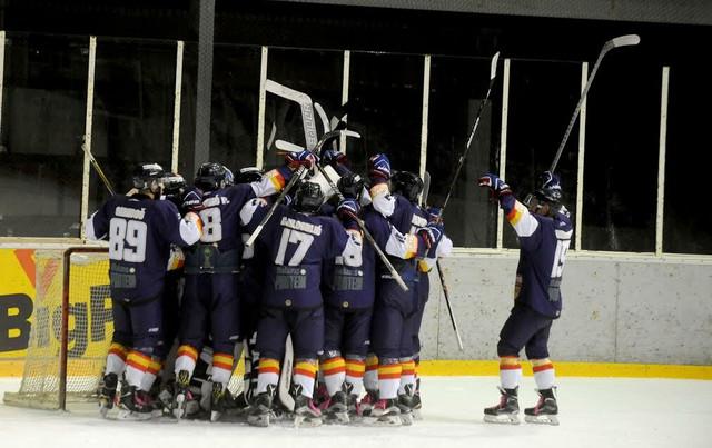 Radovanje hokejaša Beograda