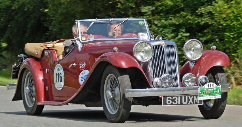 Jaguar, a właściwie SS1, z 1933 roku