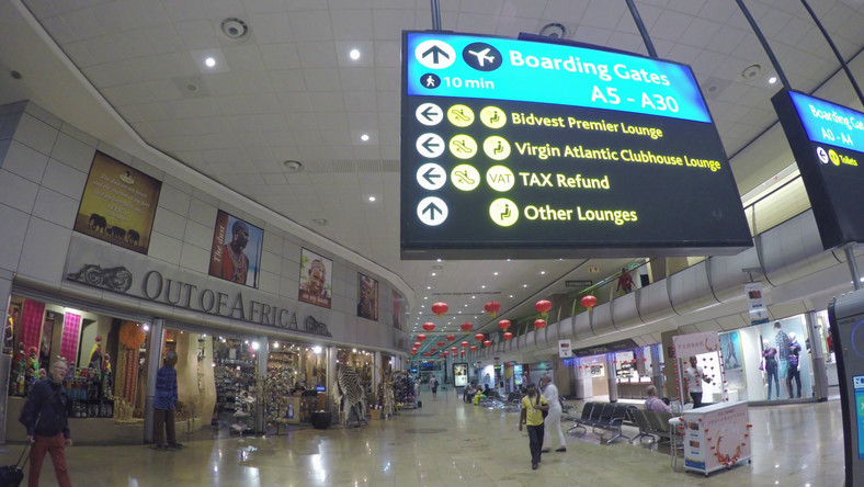Johannesburg International Airport (Video Blocks)
