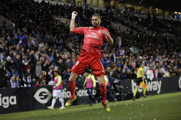 Karim Benzema je postavio konačan rezultat na meču Leganes - Real