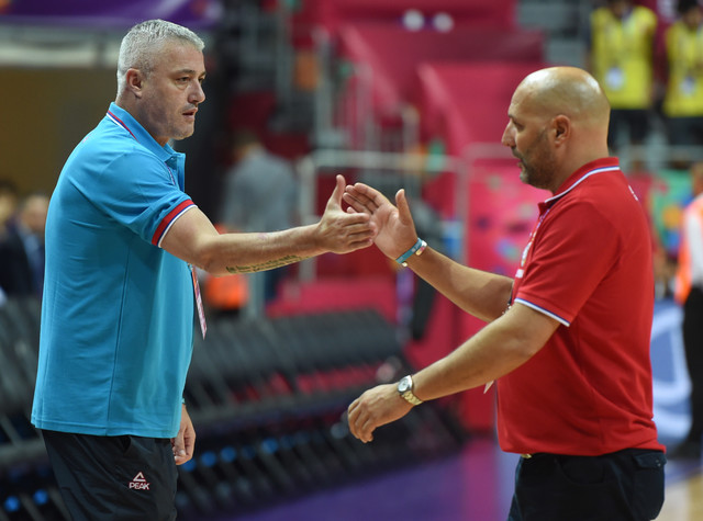 Predrag Danilović i Aleksandar Đorđević