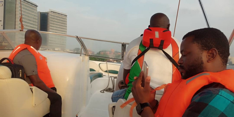 GBoat on Lagos waterways