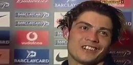 Pierwszy wywiad Ronaldo po angielsku! Jak on wtedy wyglądał...