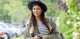 Stylizacja dnia: luzacka Kourtney Kardashian