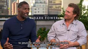 """""""Mroczna wieża"""": Matthew McConaughey i Idris Elba o filmie"""