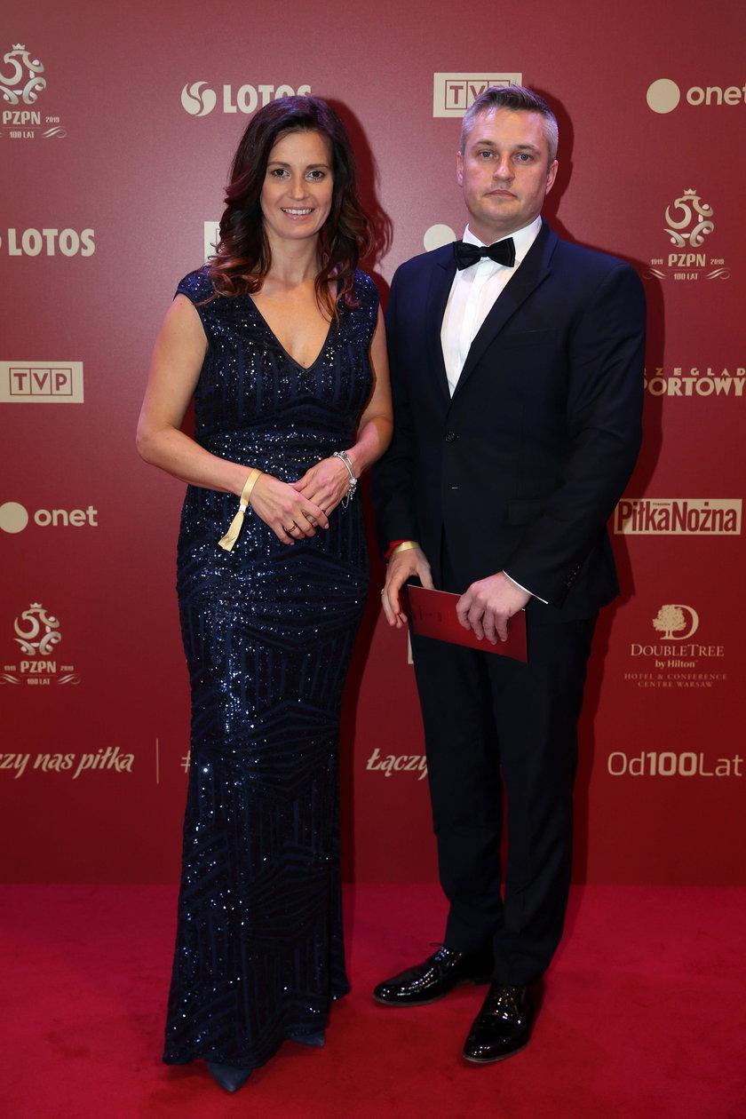 Słynna szpadzistka ma nie mniej słynnego męża. Drużyna Roberta Andrzejuka (45 l.) to wicemistrz olimpijski z Pekinu w szpadzie