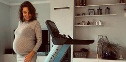 Agnieszka Włodarczyk zachwyciła nowymi zdjęciami z ciążowej sesji