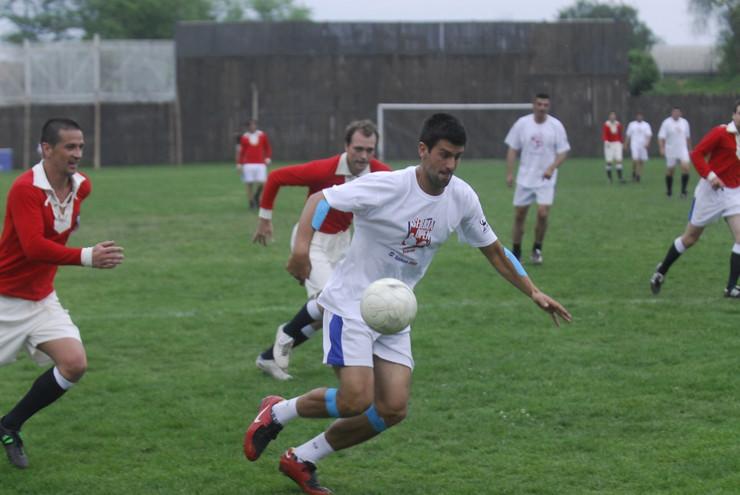Novak Đoković fudbal